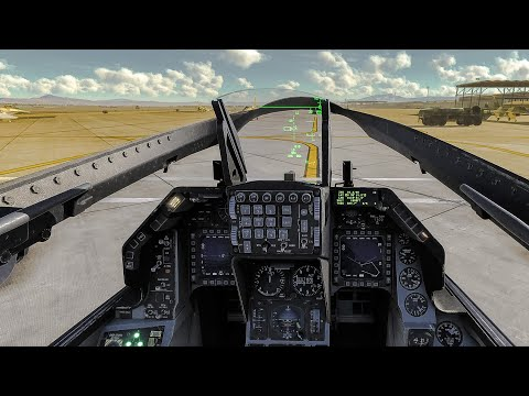 DCS World Flight Simulator 2020 Gameplay F-16 Real Life Graphics 4K 60FPS
