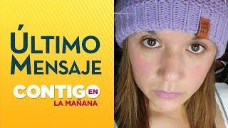 Los nuevos antecedentes del caso de Claudia Agüero - Contigo en la Mañana