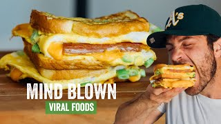 The Viral All In One Egg Sandwich Hack with Spam  Brunch Boys