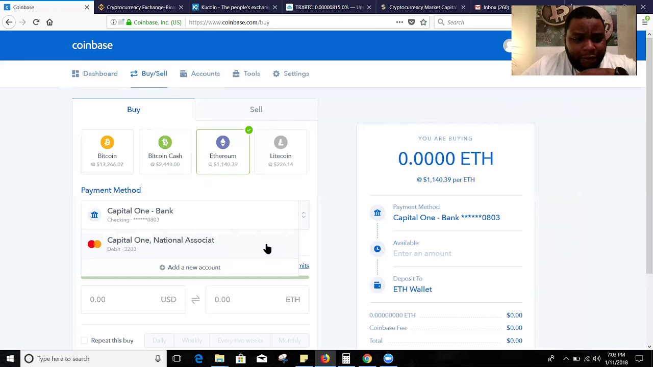 how to buy tron coinbase