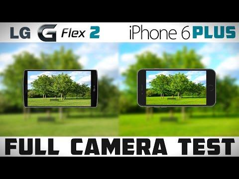 LG G FLEX 2 vs iPhone 6 Plus - Detailed Camera Comparison