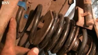 видео Тема: Замена передних пружин своими руками.
