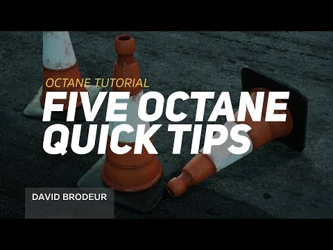 Five Octane Quick Tips In Cinema 4D