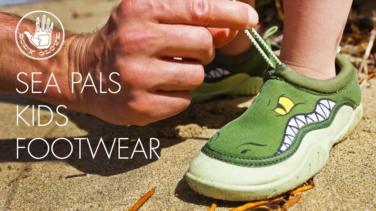 a408e86f5a97 Sea Pals Footwear for Kids by Body Glove - YouTube