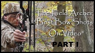 BOWHUNTING: Best Bow Shots On Video!!! Part I