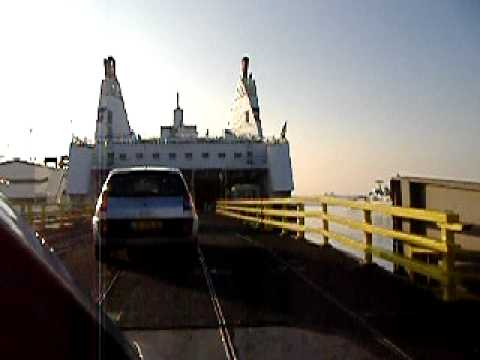Brittany Ferries Boarding By Car On The Mont Saint Michel Youtube