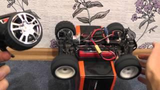 FS GT3B Тестування RC апаратури управління.