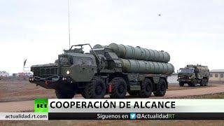 Llegan a Turquía los primeros sistemas antimisiles rusos S-400