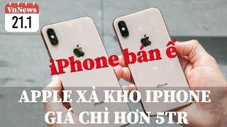 """VnNews 21/1: Apple bán iPhone giá chỉ hơn 5tr, Tuấn Hưng lái siêu xe """"khạc lửa"""" đi bão cùng vợ"""