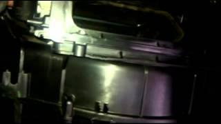 Oprava klapky vnútornej cirkulácie vzduchu