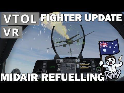 VTOL VR - Fighter Update - Midair Refuelling