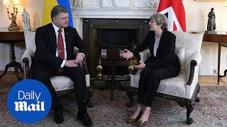 Theresa May: UK ready to support Ukraine over threat from Russia - Daily Mail