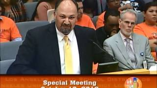 LAUSD vs  Celerity On October 18,2016, the LAUSD School Board rejected the renewals of two Celerity charter schools. This is the three-minute highlight reel from the hearing., From YouTubeVideos
