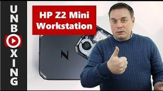 unboxing hp z2 mini workstation en liten kraftpakke for kontoret