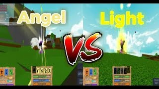 ANGEL vs LIGHT!!! |*HOLY BATTLE*| Roblox Elemental Battlegrounds
