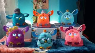 FURBY CONNECT - COMPLETE SET COLORS  - PHILIPPINES MADE IN KSA  اتصال فيرب