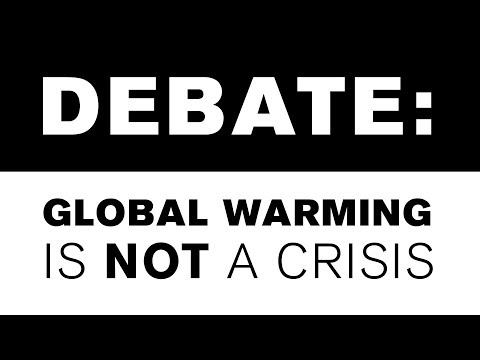 Debate: Global Warming Is Not A Crisis (IQ²US 2007)