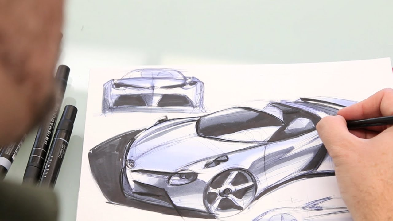 Concept Car Designed And Destroyed The Five Minute Car Ep 1 Youtube
