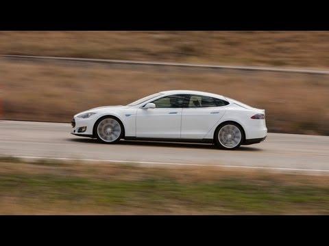 Tesla Model S First Drive Edmundscom YouTube - 2012 tesla model s