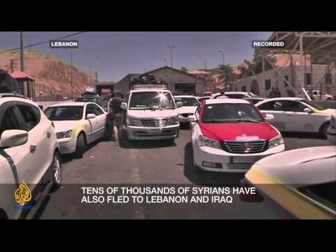 Inside Syria - How serious is the Syrian refugee crisis?