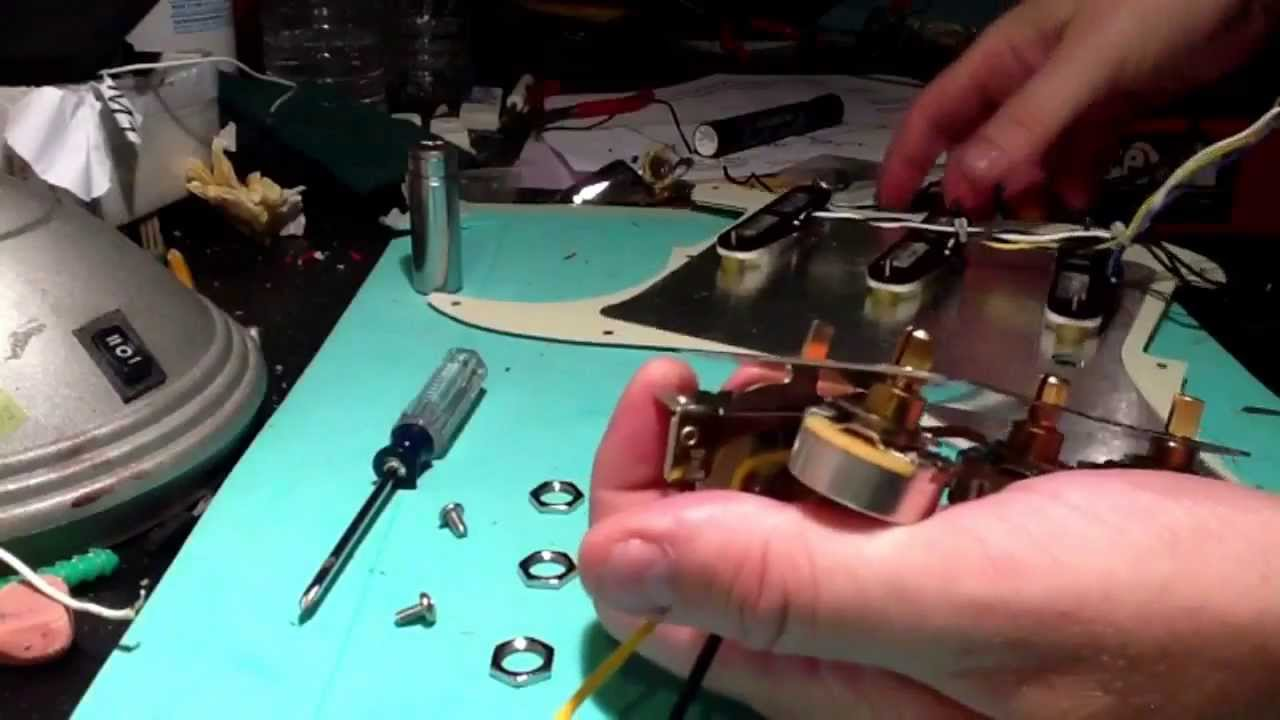 medium resolution of strat jeff beck wiring harness installation youtube rh youtube com jeff beck esquire wiring strat wiring mods
