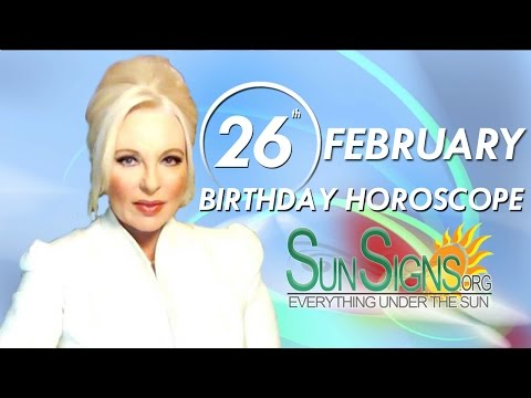 Birthday February 26th Horoscope Personality Zodiac Sign Pisces Astrology