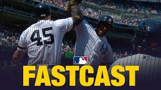 The Yankees erupt for seven runs in the 6th, plus Vladimir Guerrero...