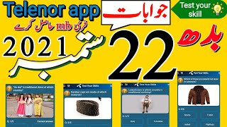 Telenor App Questions Today   Telenor Questions Today  Telenor Answers   Test Your Skill   #Shorts screenshot 3