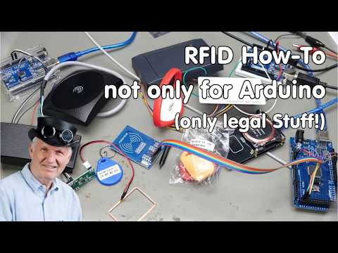 #223 RFID How-To: Not only for Arduino (only legal Stuff!)
