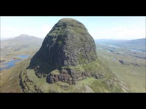 Suilven From the Air