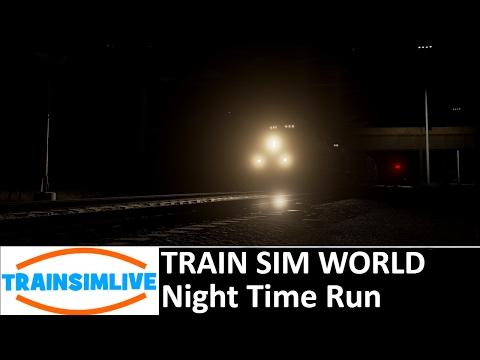 Train Sim World - Night Time Run