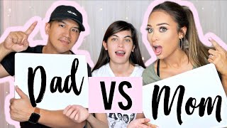 WHO KNOWS ME BETTER? (Dad vs. Mom!)