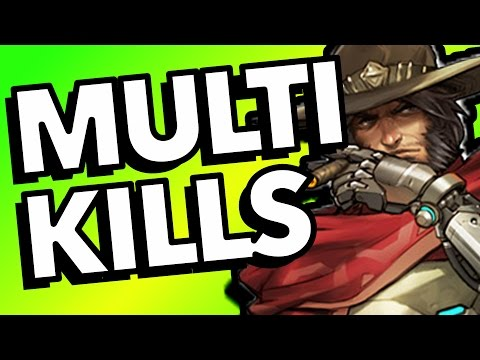 32 INSANE MULTI KILLS - Overwatch Epic Moments Montage
