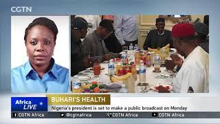 Nigerian president jets back after lengthy medical leave in UK