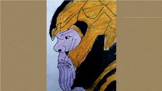 Drawing Thanos   |  Pranav's Arts