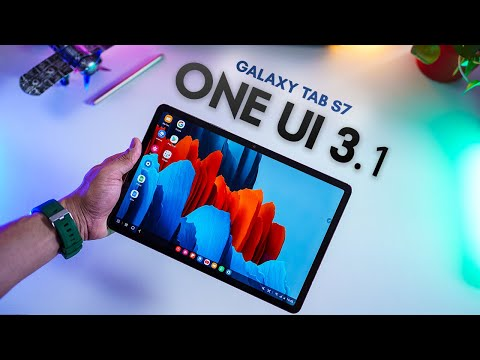 Galaxy Tab S7 Gets One UI 3.1 - NEW FEATURES!