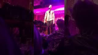 Jonathan Groff - Spears/Sondheim Medley (Feinstein's/54 Below)