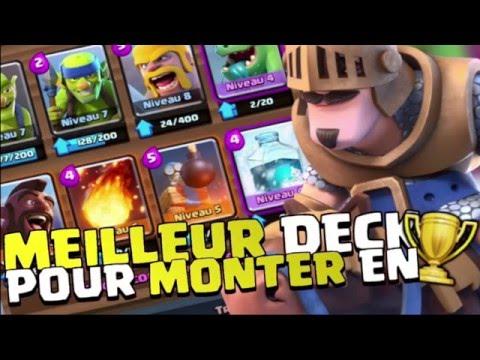 Nouveau deck de cartes pour l 39 ar ne 5 sur clash royale fr for Meilleur deck arene 4