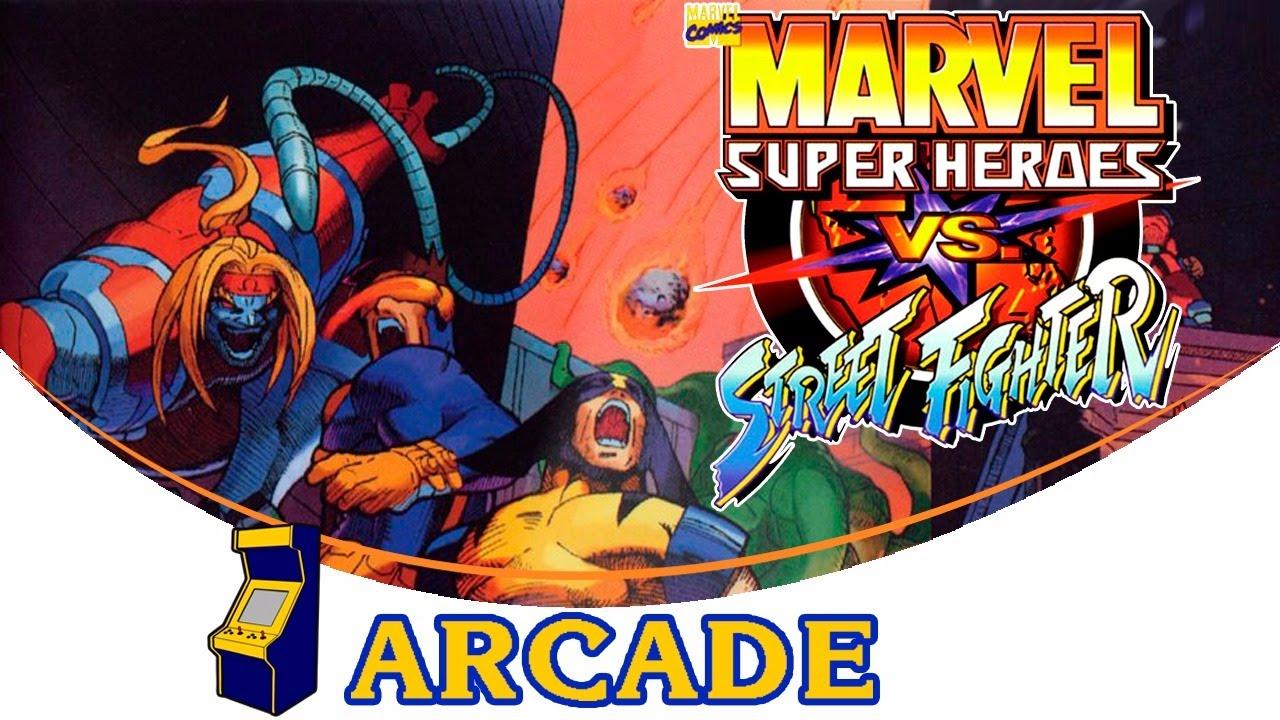 El primer player - Marvel Super Heroes vs. Street Fighter ...