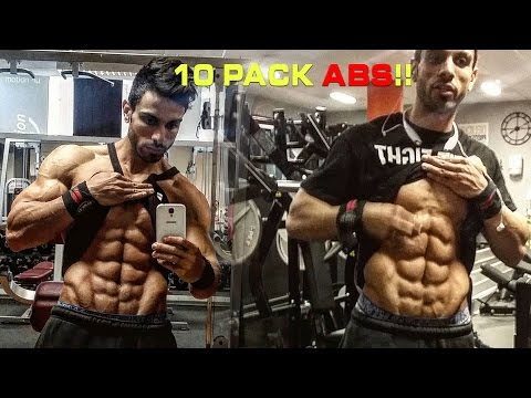 how to get 6 pack abs at home video