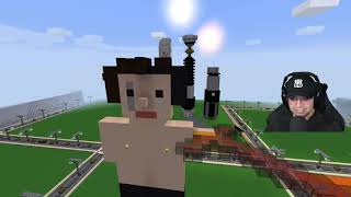 Walking into the Minecraft server after 5 months