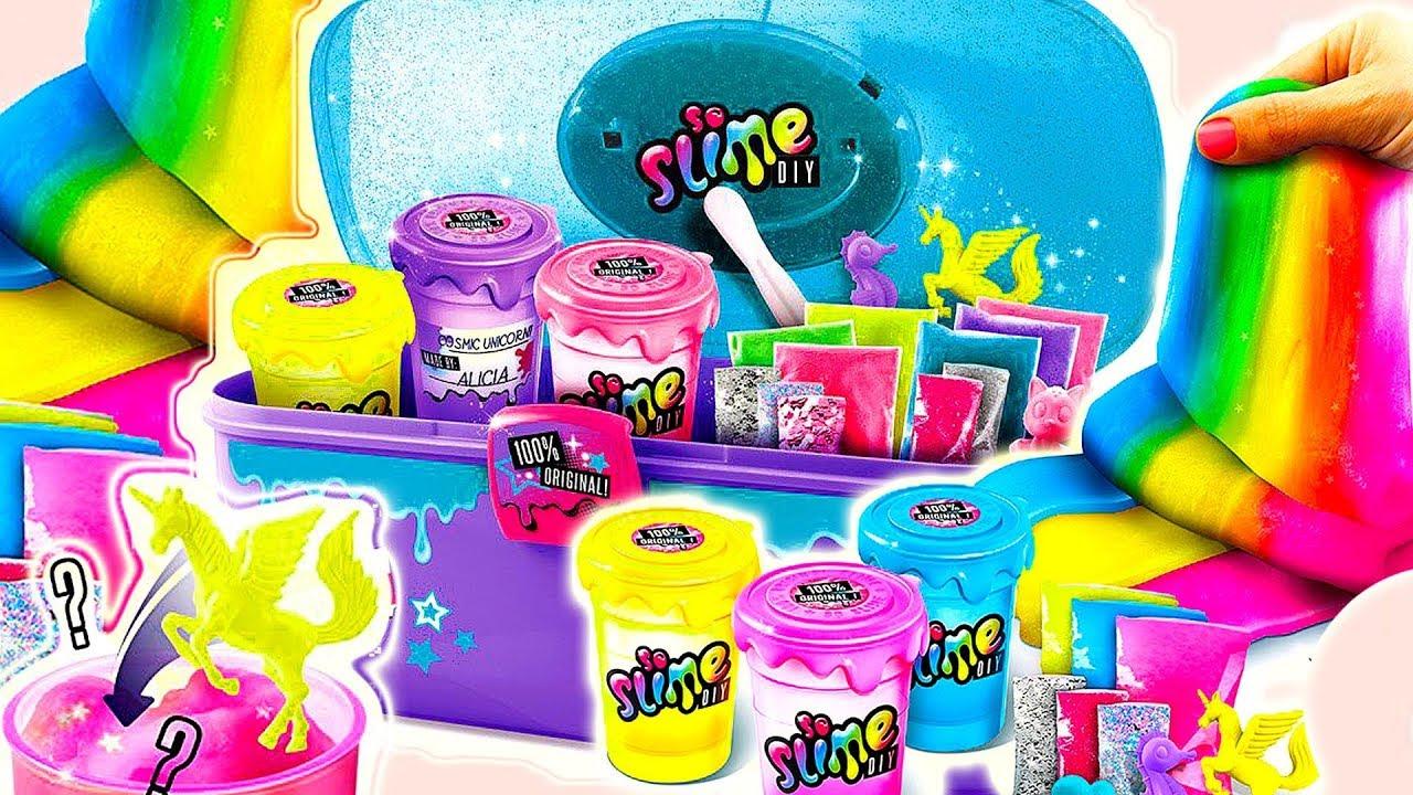 Slime Case & Slime Shaker • DIY • Slime brokatowy, kolorowy & metaliczny • kreatywne zabawki