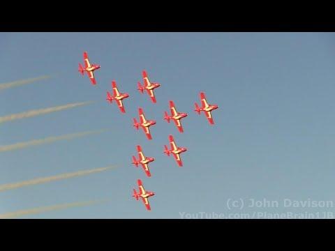 2017 Airshow London (Twilight Show) - RCAF Snowbirds