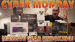 Super Mega PC gear unboxing!!! - Giveaway!!!