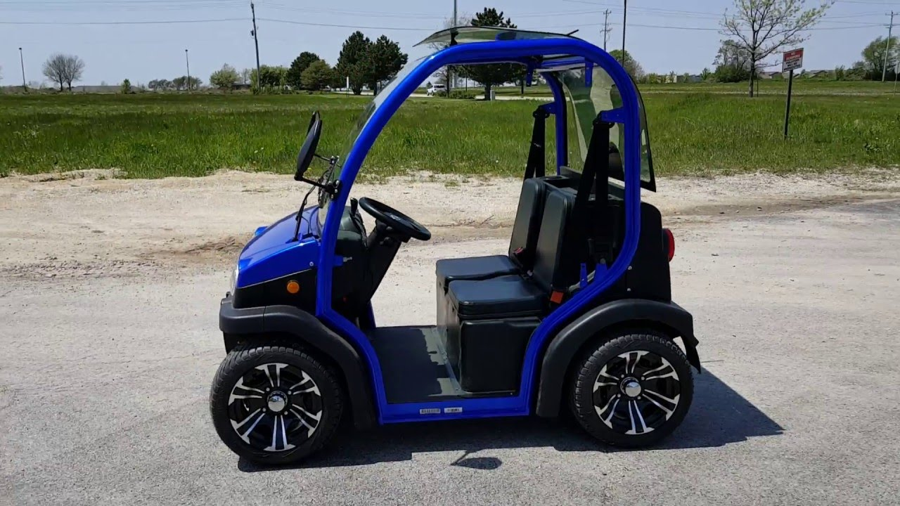 2 Seater Lsv Street Legal Golf Cart For From Saferwhole