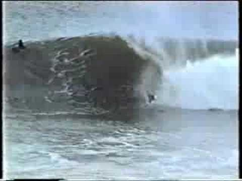 Surfing Newcastle Harbour late 80's? pt1