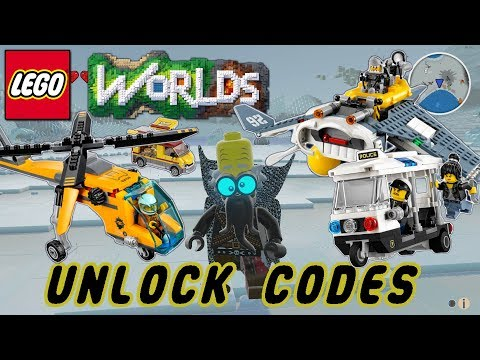 Lego Worlds | Unlock Codes | Episode 3