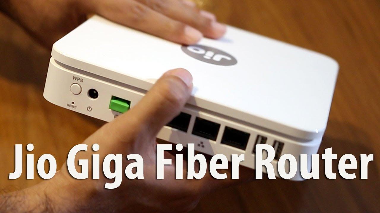 Jio Giga Fiber Router Gigabit Internet Overview Amp Admin