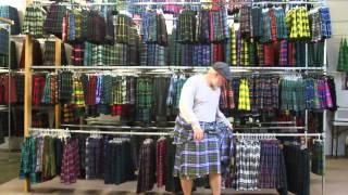 How to Fold a Great Kilt