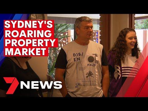 Sydney's booming property market   7NEWS